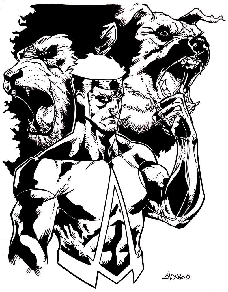Animal Man by luisalonso