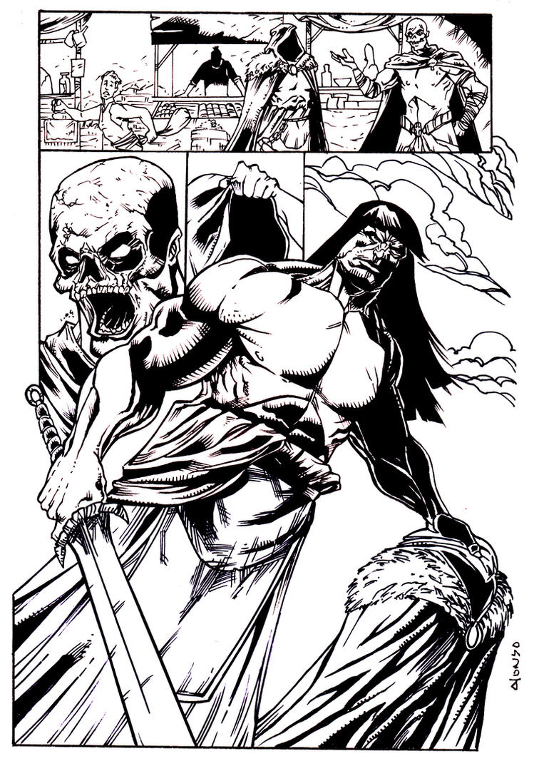 Conan pg2 by luisalonso