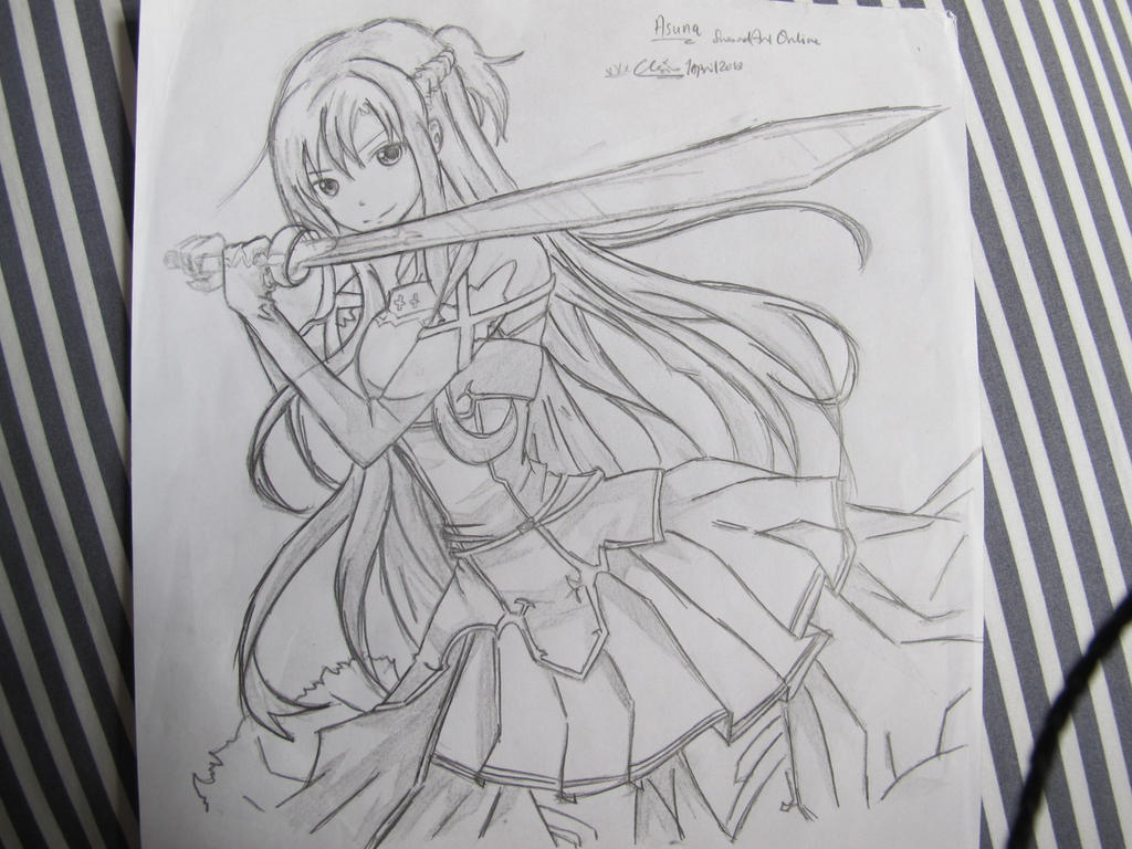 Asuna Sword art online by PINB242
