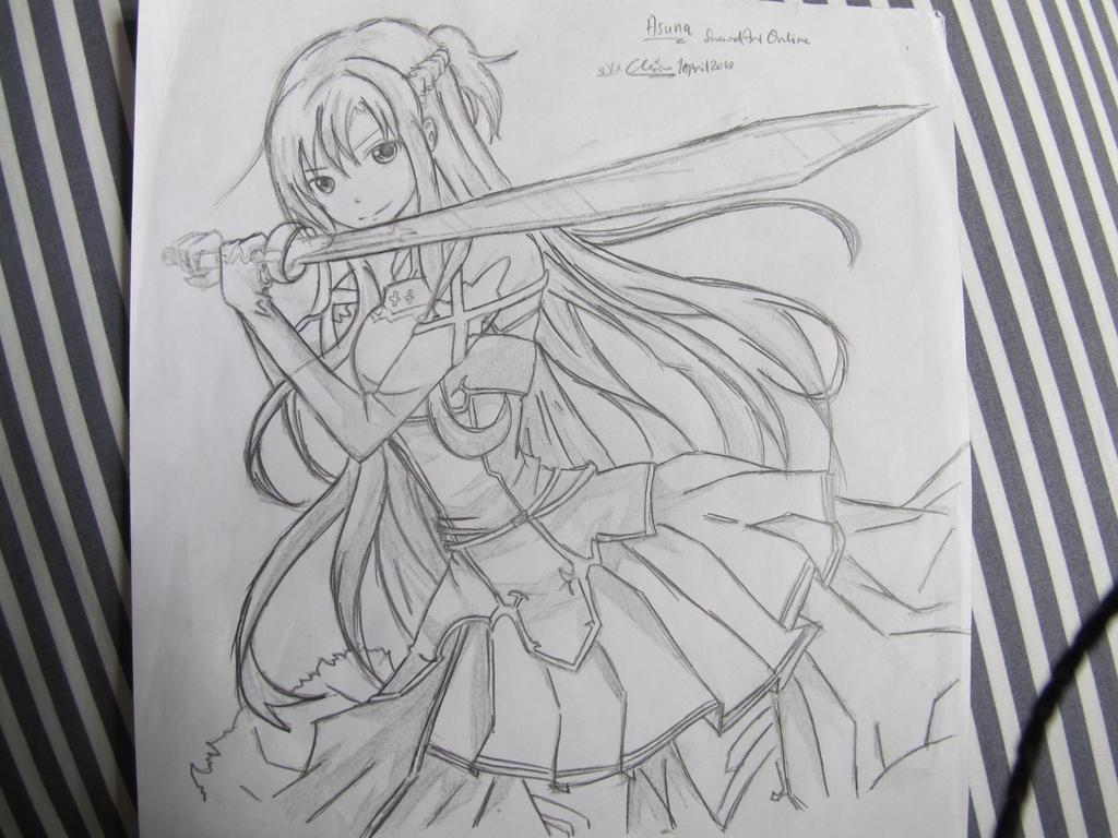 dessin manga sao