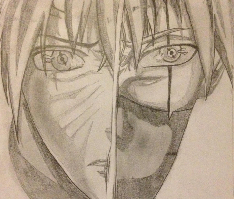 Obito and Kakashi by PINB242