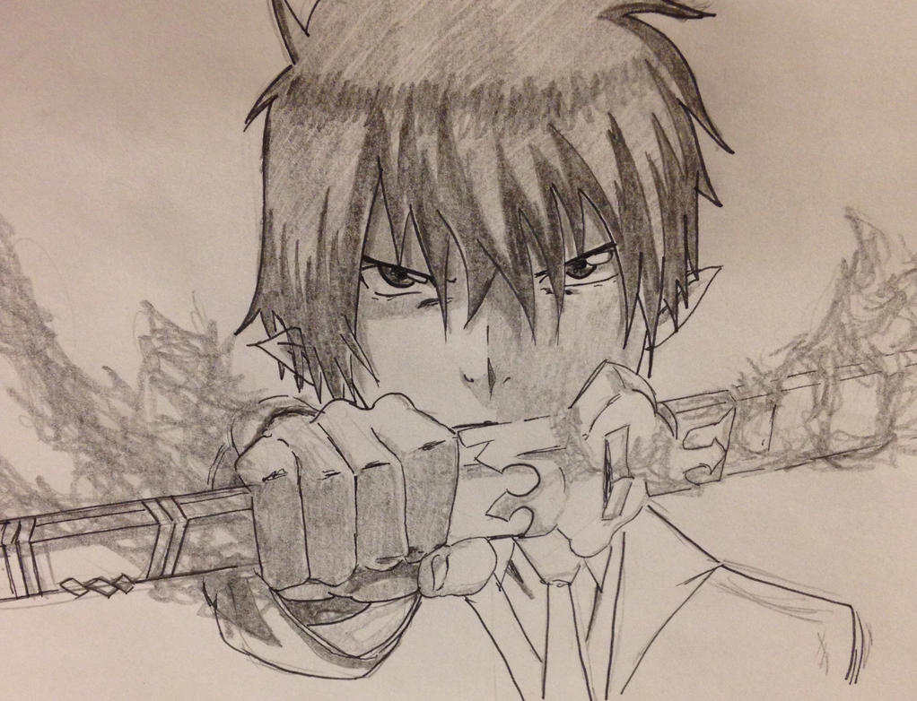 Ao no Exorcist-Rin by PINB242