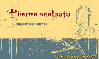 Pharma analysis logo by abdollah4ever