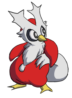 Delibird by Thndr