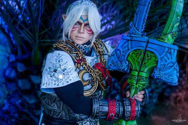 Link: Fierce Deity cosplay