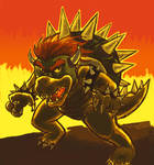 B is for Bowser