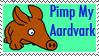 Pimp My Aardvark Stamp by zucky