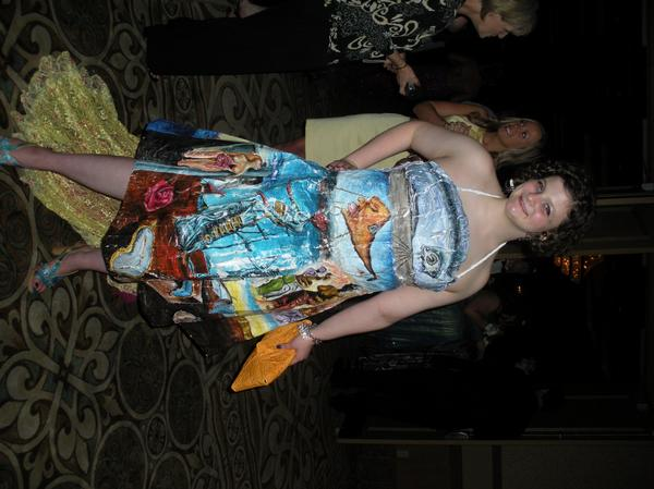 Duct Tape Prom Dress Designs