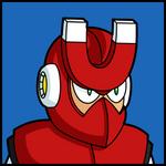 Mega Man 3 Mugshots - Magnet Man