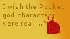 Pocket god characters stamp by gummy-bear-ninja