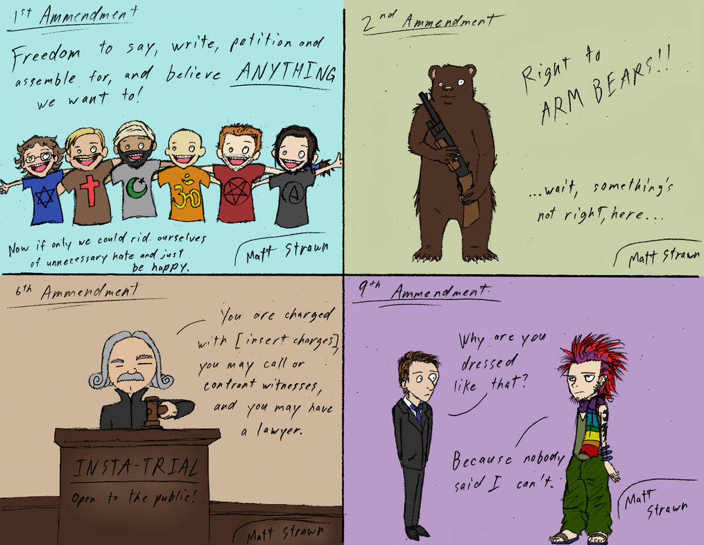 Government Class Bill Of Rights Cartoons By Faullyn On Deviantart