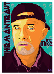 mc mike ehrmantraut by JimSuperfly