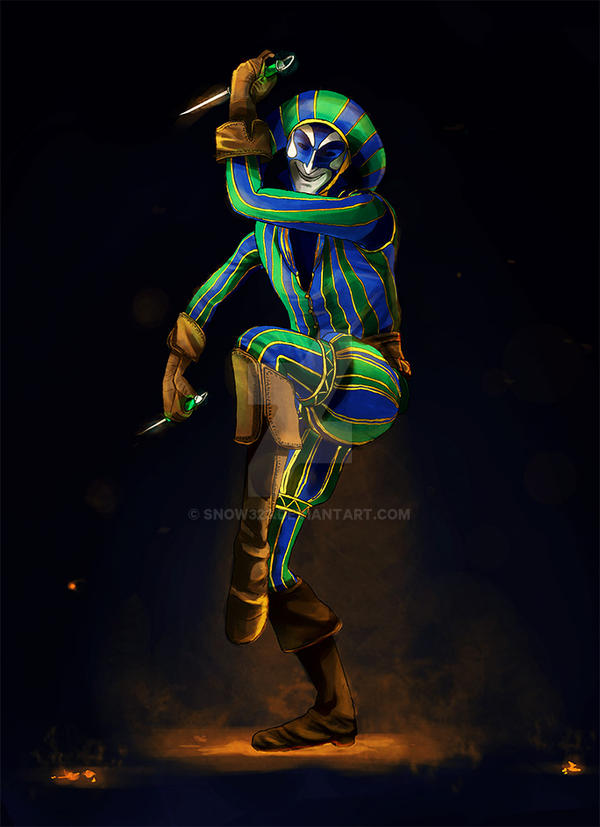 Assassin's Creed Harlequin [Collab w/PowersWithin] by Snow323