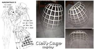 Cosplay - Ciel's Half Cage by Mitz-chan
