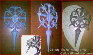 Esther Blanchett's cross