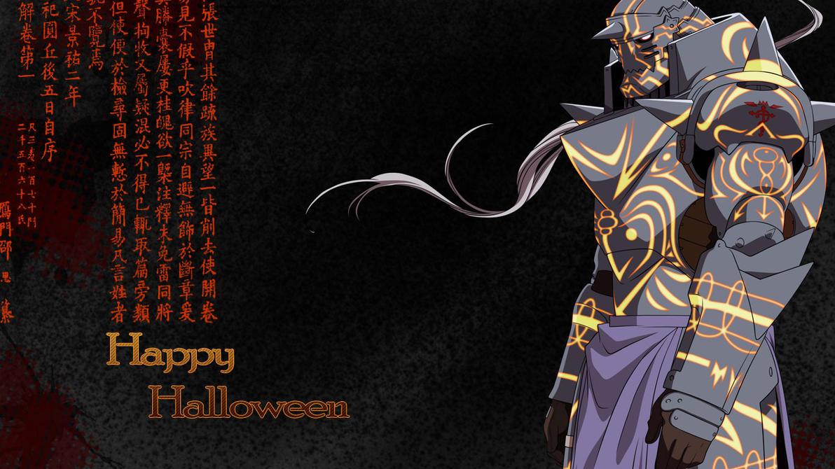 A Fullmetal Halloween by Sainoka