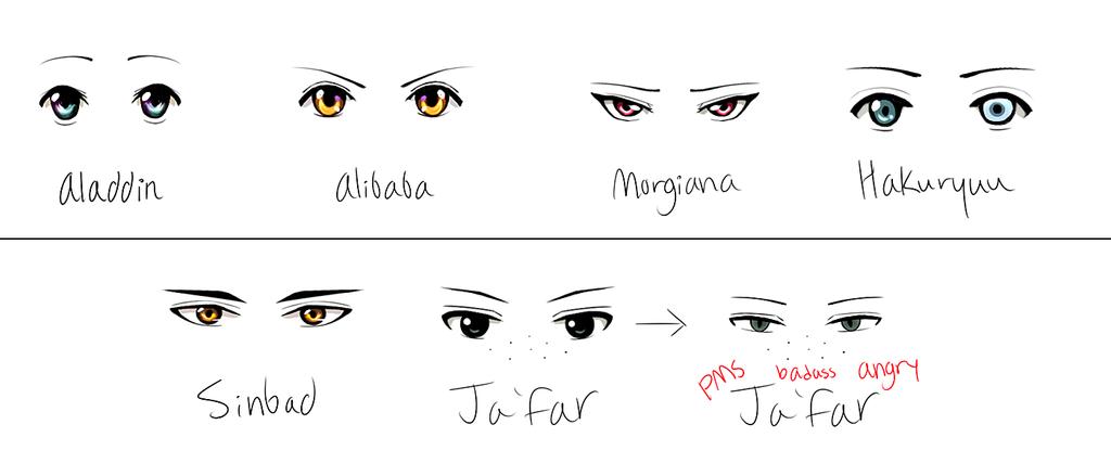 Eyes of Magi .:part 1:. by Babogatchi