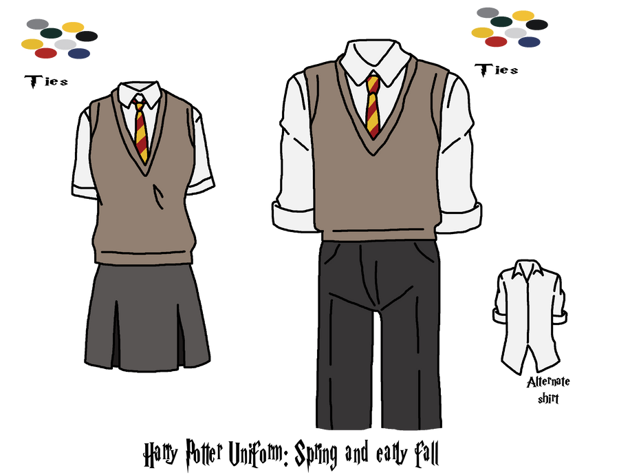 HARRY POTTER WLoF UNIFORM by yinyangswings on DeviantArt