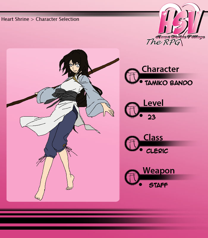 HSV RPG: Tamiko Profile by yinyangswings
