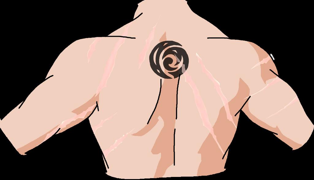 Remus's tattoo by yinyangswings