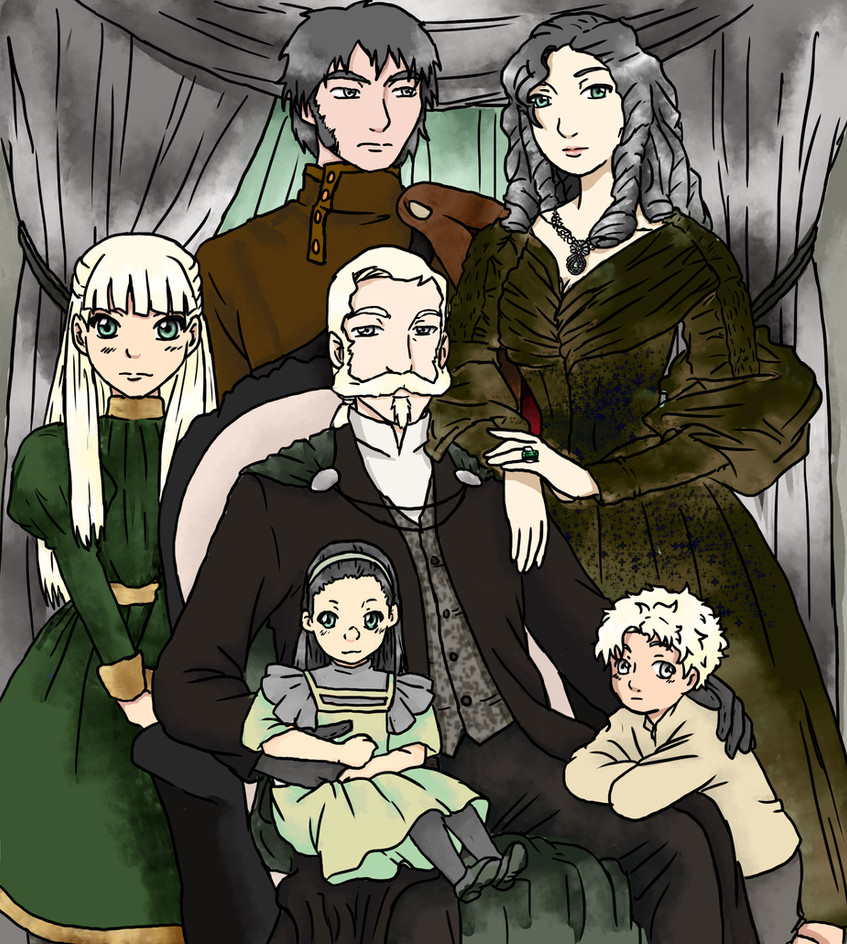 Malfoy-Koschei Family by yinyangswings