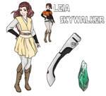 Star Wars AU: Leia Skywalker by yinyangswings