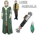 Star Wars AU: Luke Amidala