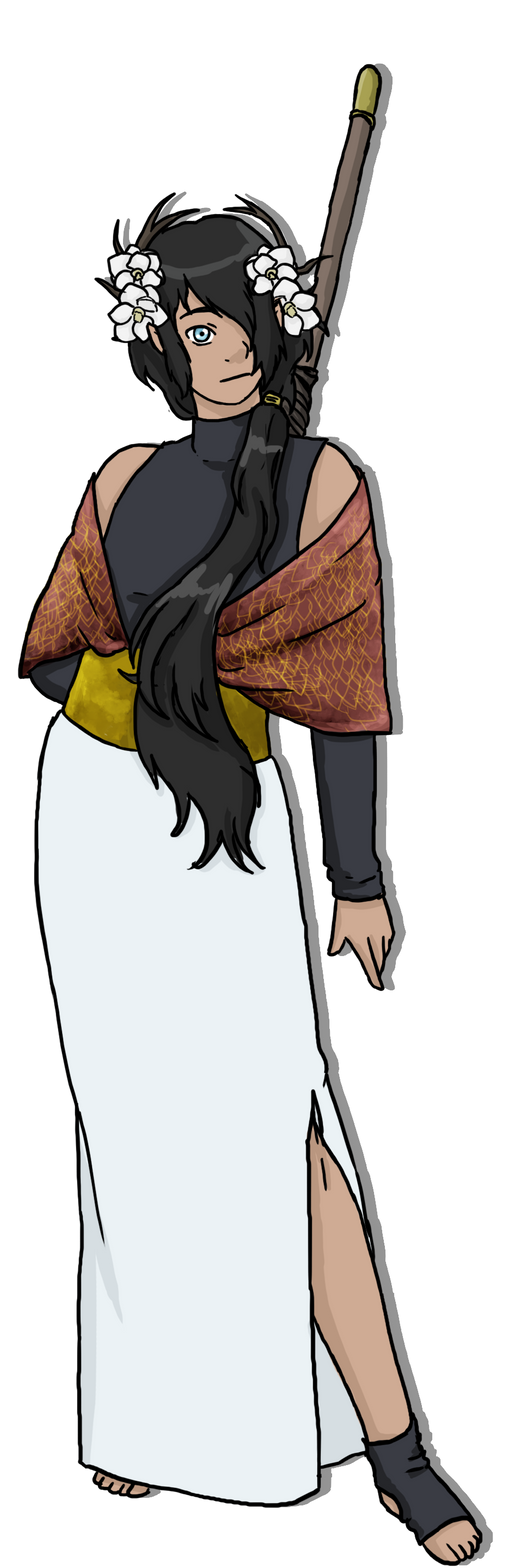 Commission: Elder Feikin Tiatha by yinyangswings