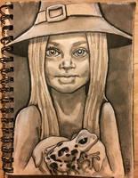 Lil' Witch by yetishaman