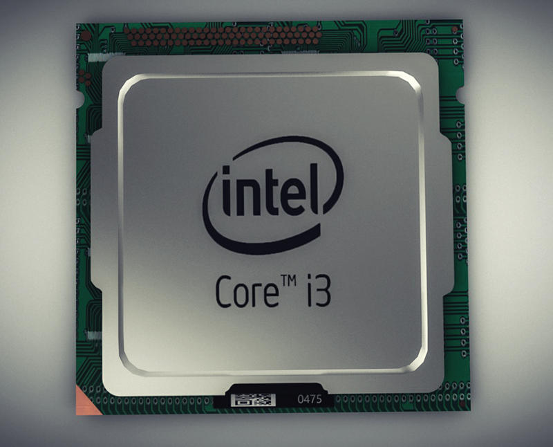 Intel I3 Prozessor  by BenC4D