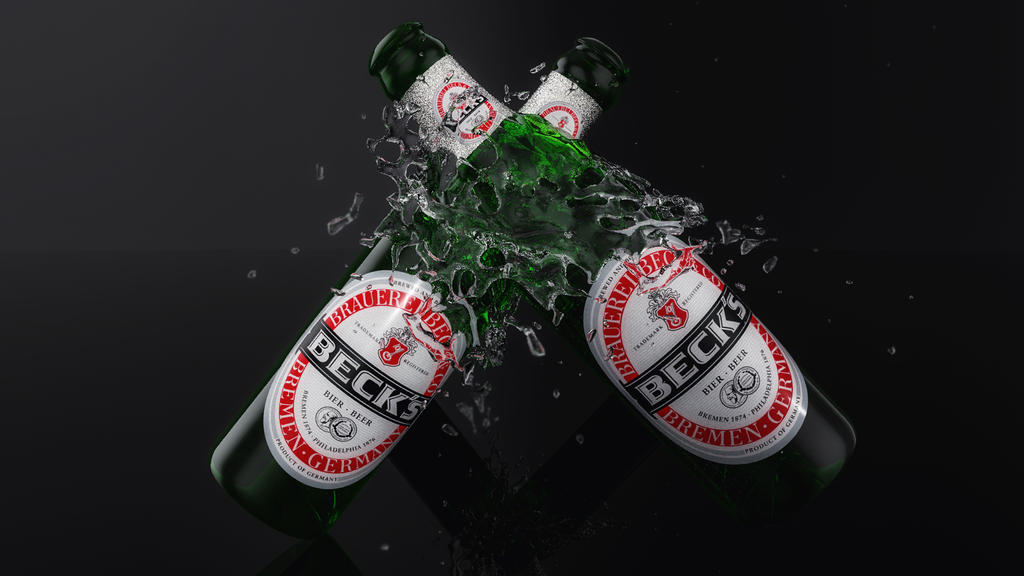 Today a Becks :) by BenC4D