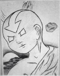 Avatar Aang by KayLynnay