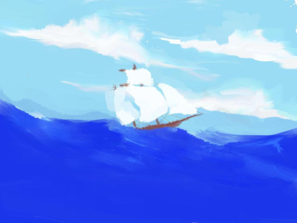 I am sailing... by martimG