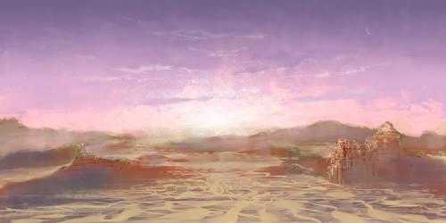 Dune Dawn