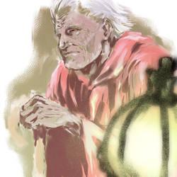 an older man
