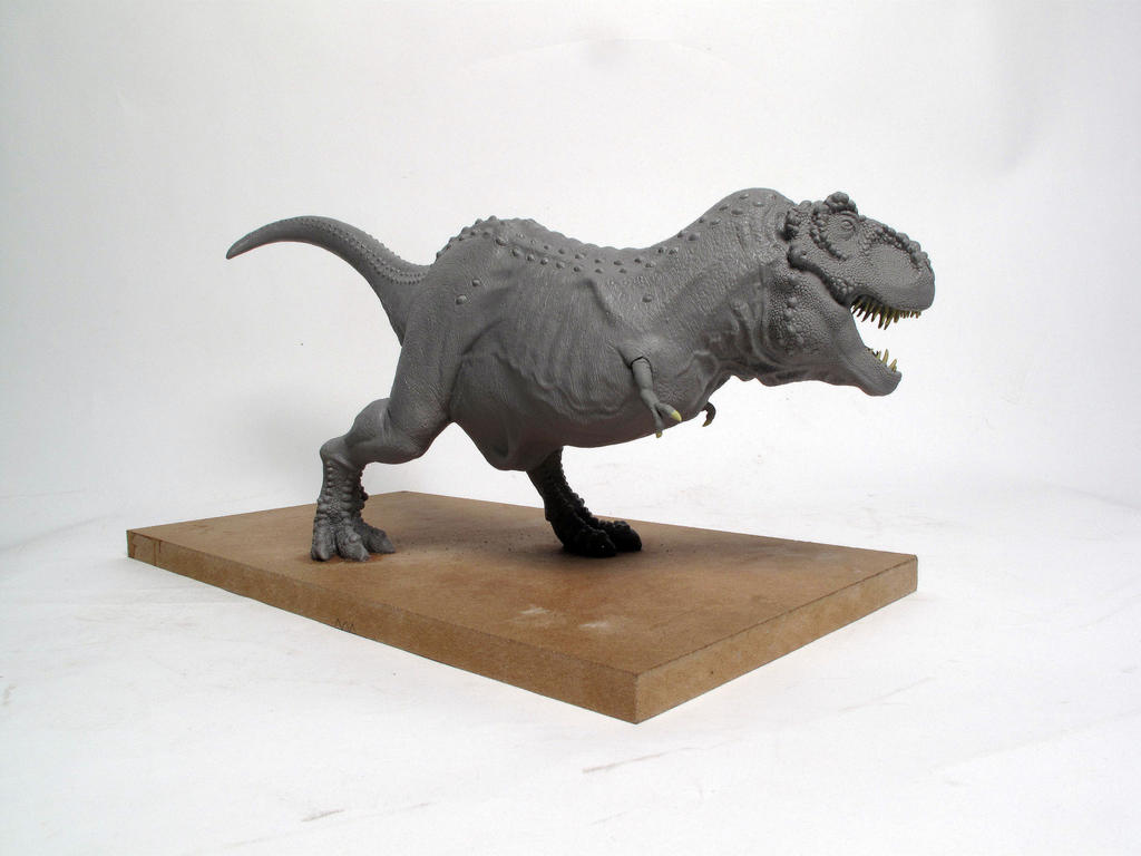 Tyrannosaurus rex finished sculpt 4 by Thomasotom