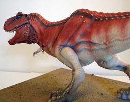 Big Red - First Tyrannosaurus rex paint-up by Thomasotom