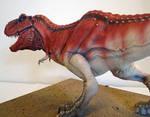 Big Red - First Tyrannosaurus rex paint-up