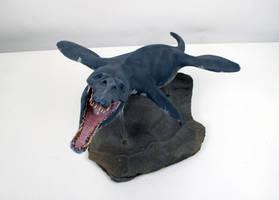 Pliosaurus macromerus 6 by Thomasotom