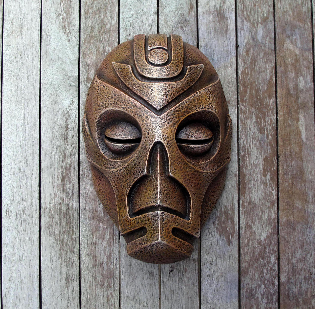 Dragon Priest Mask - Volsung by Thomasotom