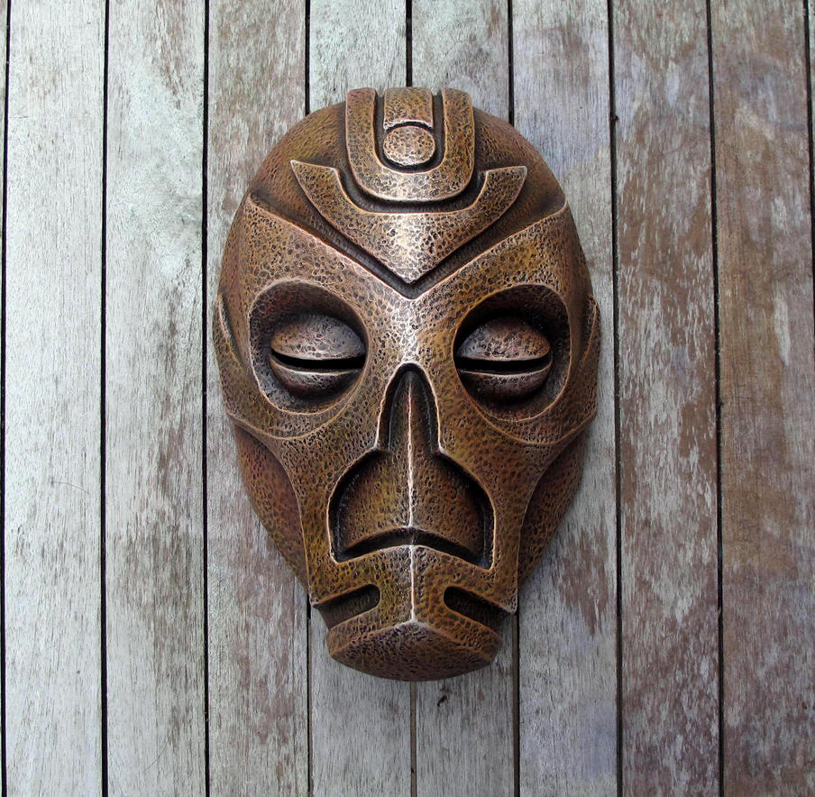 Dragon Priest Mask - Volsung by Thomasotom
