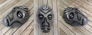 Dragon Priest Mask - Cold Cast Aluminium