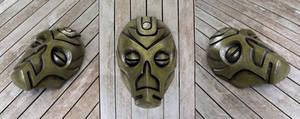 Dragon Priest Mask - Cold Cast Brass