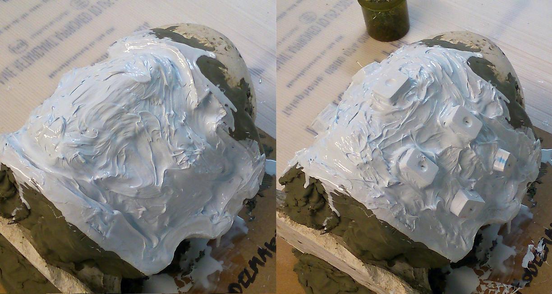 Immortan Joe's Mask - Moulding - 2 by Thomasotom