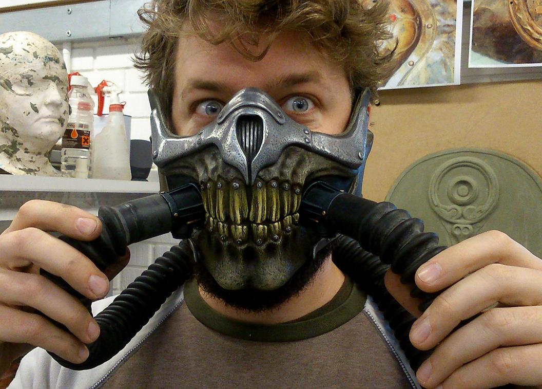 Immortan Joe's Mask by Thomasotom
