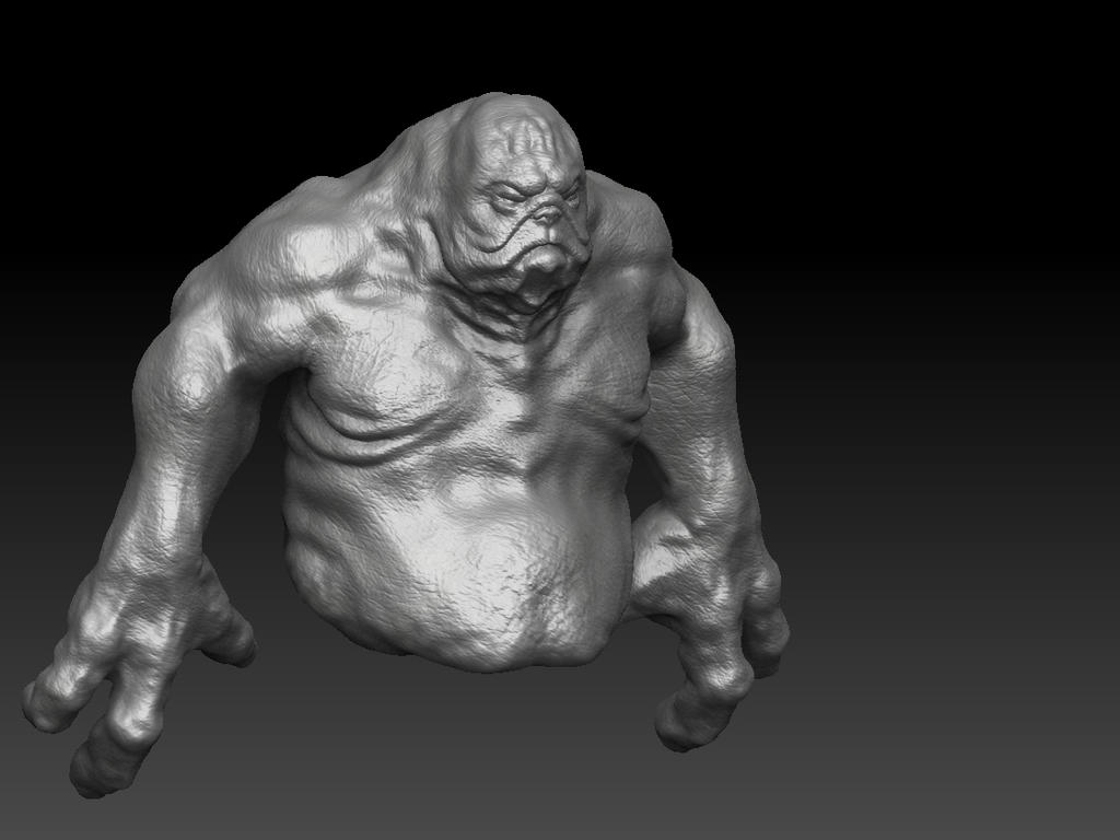 pugman WIP by Thomasotom