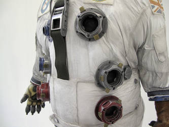 Space-Dog Details by Thomasotom