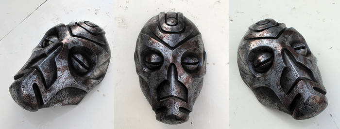 Dragon Priest Mask Mixed Metal