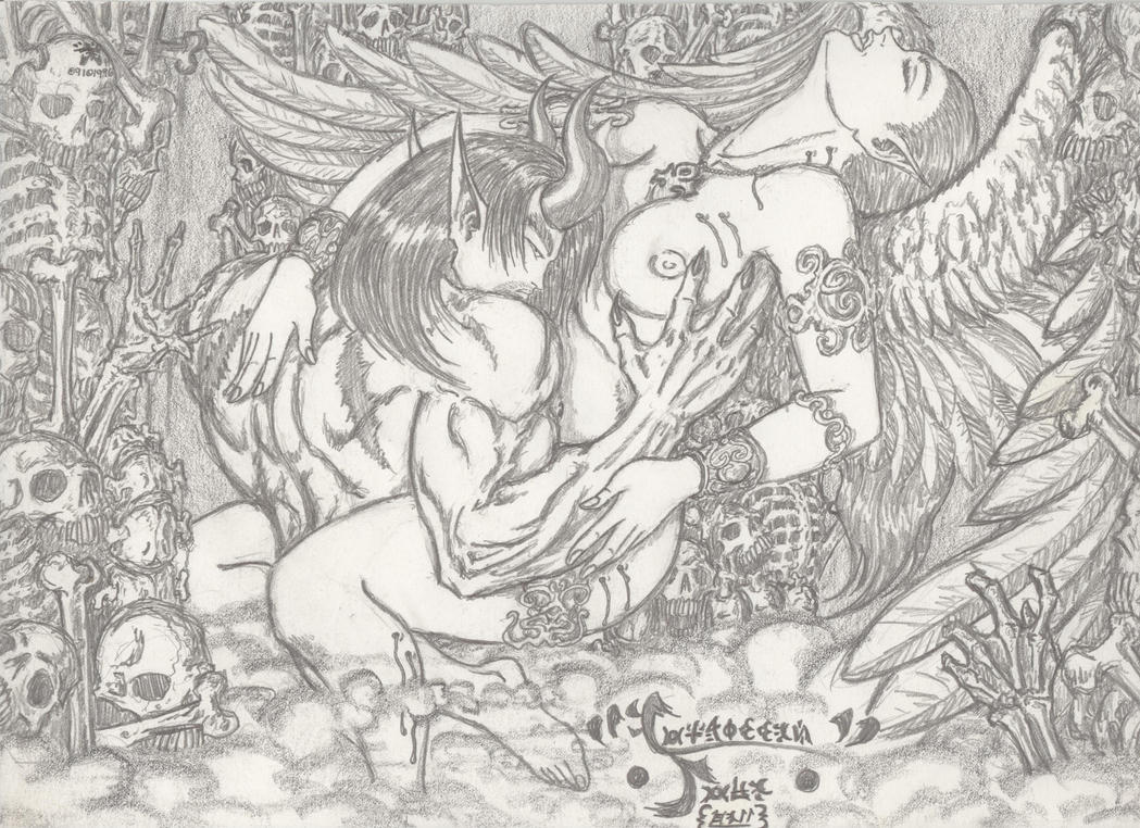 Angel and Devil Erotica 1996 by JaeDub003