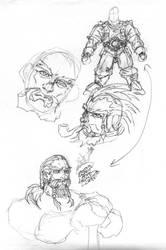 Heroic Dwarf roughs